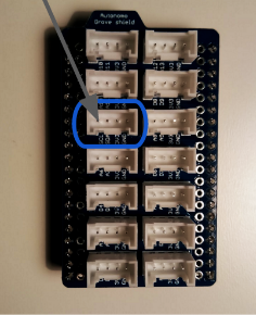 I2C on autonomo shield